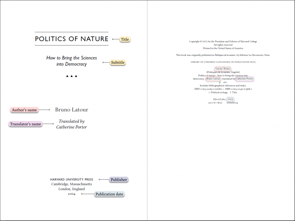 mla-book-citation